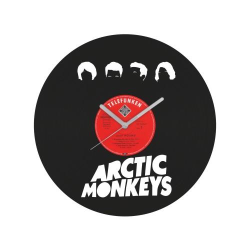Arctic Monkeys laikrodis iš perdirbtos vinilinės plokštelės