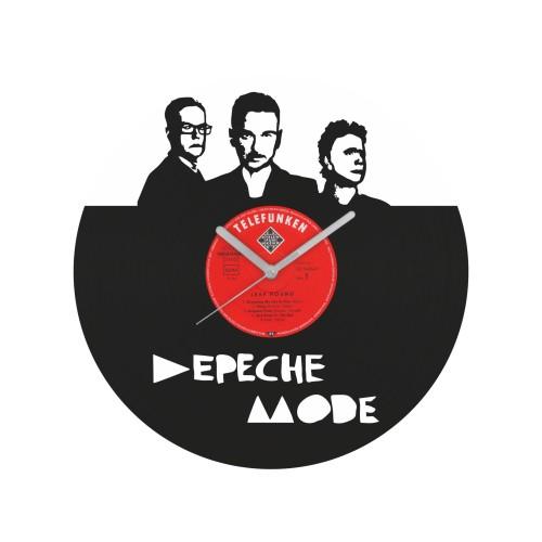 Depeche Mode laikrodis iš perdirbtos vinilinės plokštelės