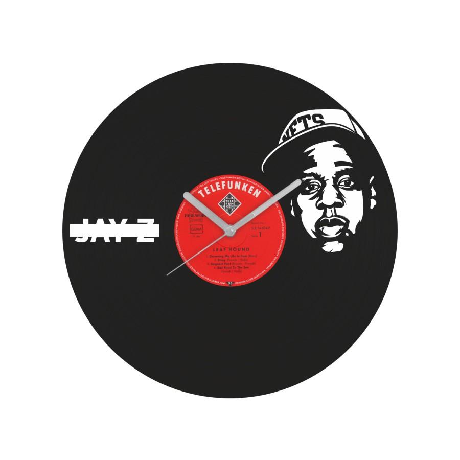 Jay Z laikrodis iš perdirbtos vinilinės plokštelės