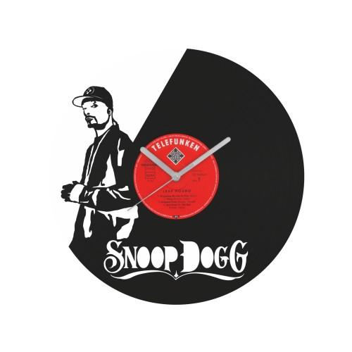 Snoop Dogg laikrodis iš perdirbtos vinilinės plokštelės