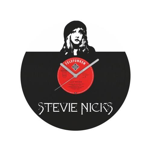 Stevie Nicks laikrodis iš perdirbtos vinilinės plokštelės