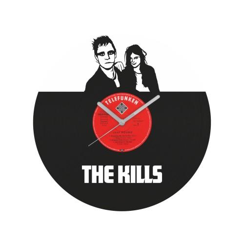 The Kills laikrodis iš perdirbtos vinilinės plokštelės