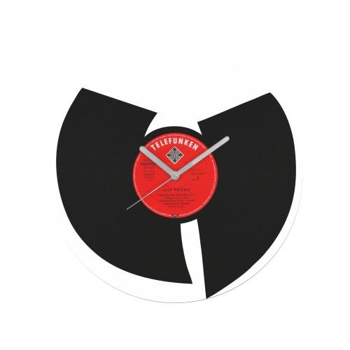 Wu-Tang Clan v1 laikrodis iš perdirbtos vinilinės plokštelės