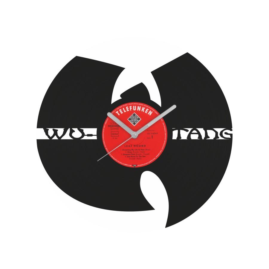 Wu-Tang Clan v2 laikrodis iš perdirbtos vinilinės plokštelės